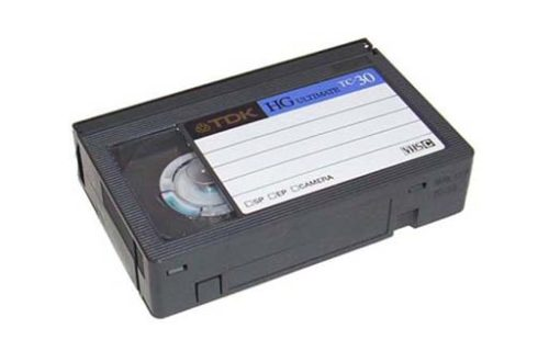 Camcorder Tapes to DVD (VHS-C)